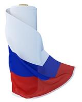 Флаги в рулонах